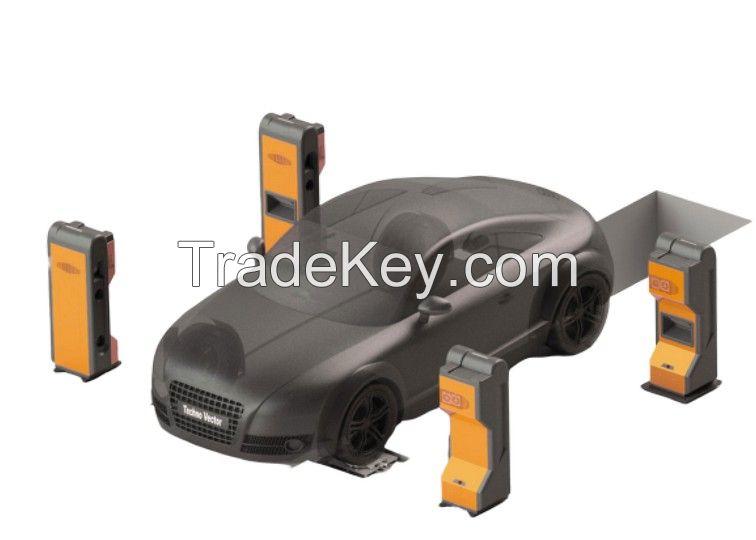 TechnoVector contactless wheel aligner