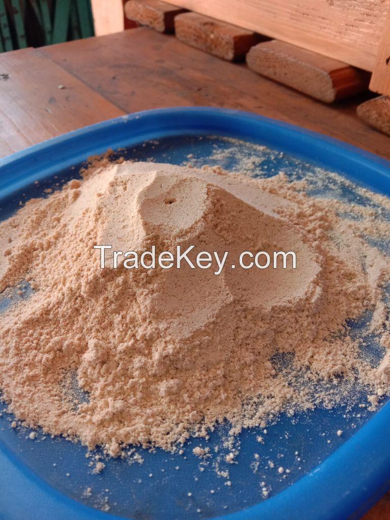 calcium carbonate Yellow Powder