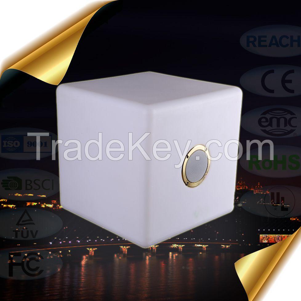 20cm RGB Dual Stereo Speaker Lamp Bluetooth V4.0+EDR