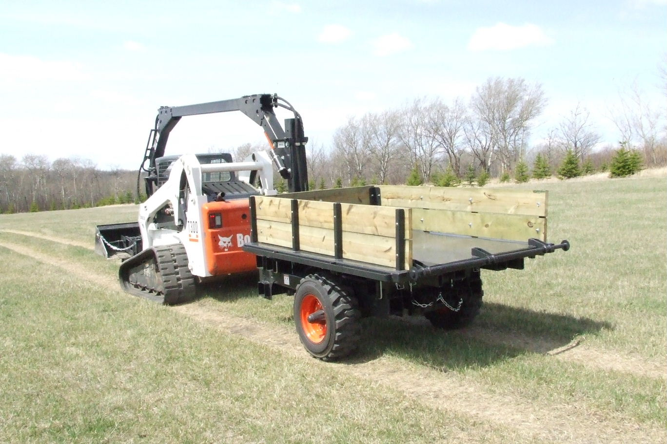 Cattail Skid Steer Attachment By quantum industris inc, USA