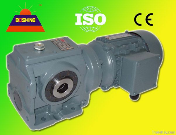 S Helical Worm Gearbox Reducer Motor