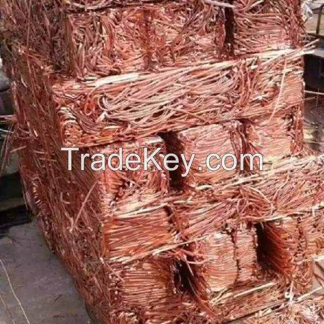 Copper Wire Scrap 99.9% with Low Price, Millberry Scrap Copper Wire, Copper Scrap / Mill Berry Copper Direct Factory Supplier