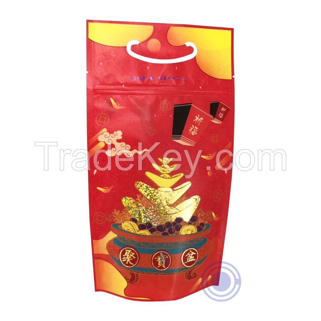 Multi-Color Hot-Stamping Bag