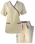 Nursing Uniforms Mock Wrap Designer Set