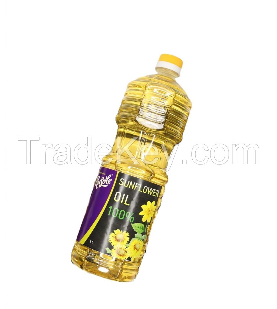 Premium Ukrainian Quality Refined Sunflower oil and Cooking oil