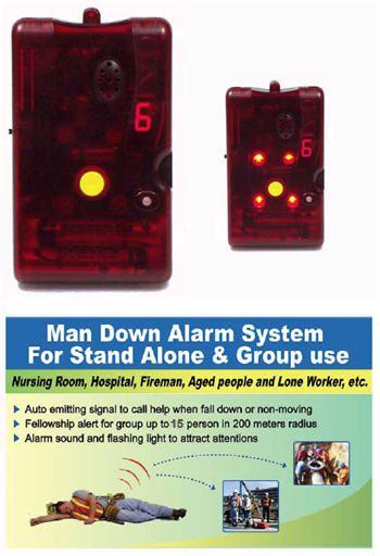 Lone Worker /  Man Down Panic Alarm System