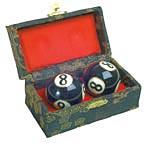 Chinese exercise iron ball