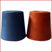 Gassed Mercerized Dyed Yarn