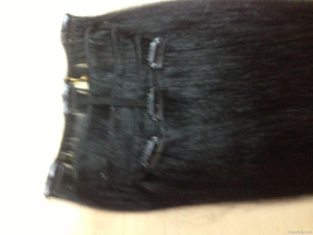 Long Human Hair Brads
