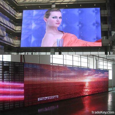 LED mesh display screens (Indoor / Outdoor)