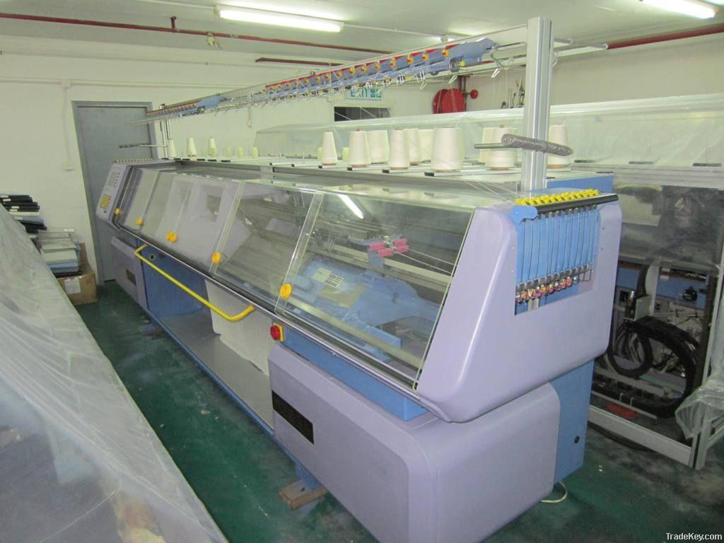 STOLL Flat Computerized Knitting Machines