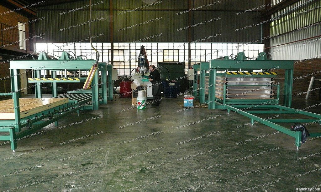 Structural Sips Production Line