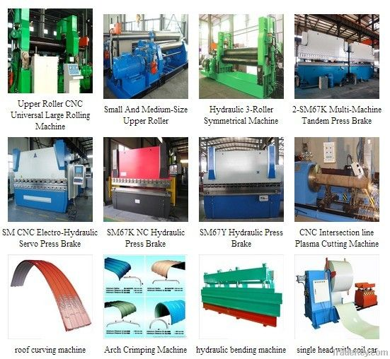 Hydraulic Rolling Press Brake Machine