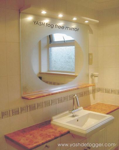 electric mist free mirror