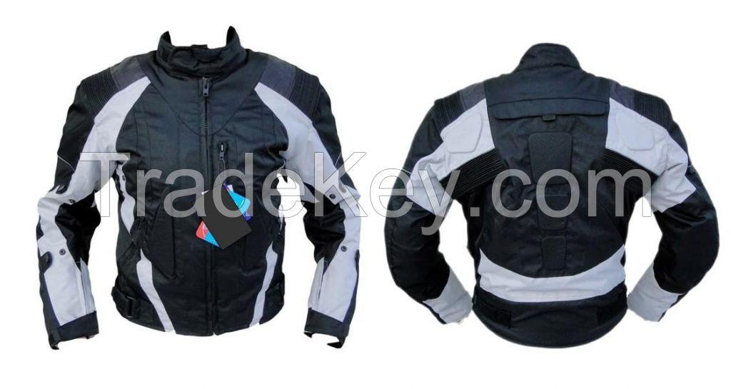 Black/Grey Motorcycle Textile jacket