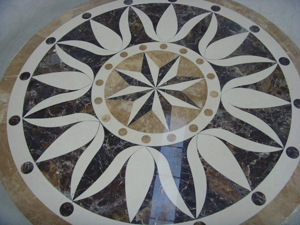 Waterjet Marble Pattern