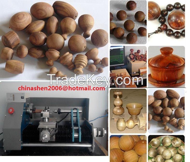 wooden beads making machine
