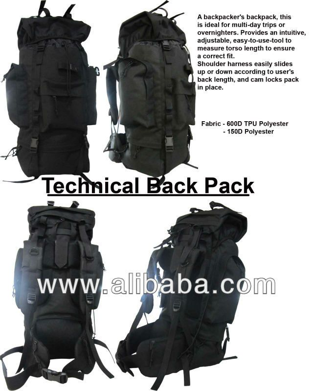 Tactical military back pack