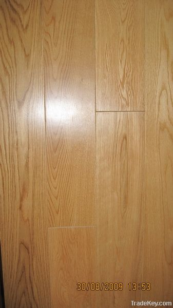 wood flooring(multi layer three layer engineered, plyood, pine base)