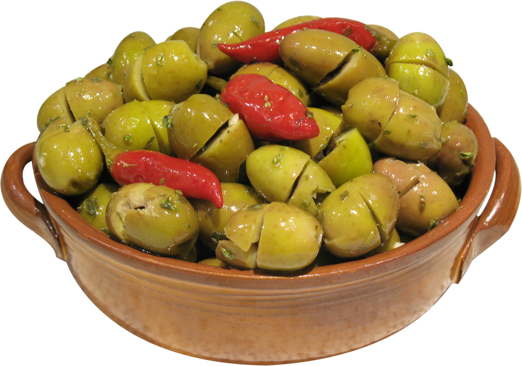 Green Sicily Olives