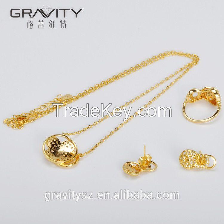 Hot Ing Imitation Saudi Dubai Jewelry 24k Jewellery