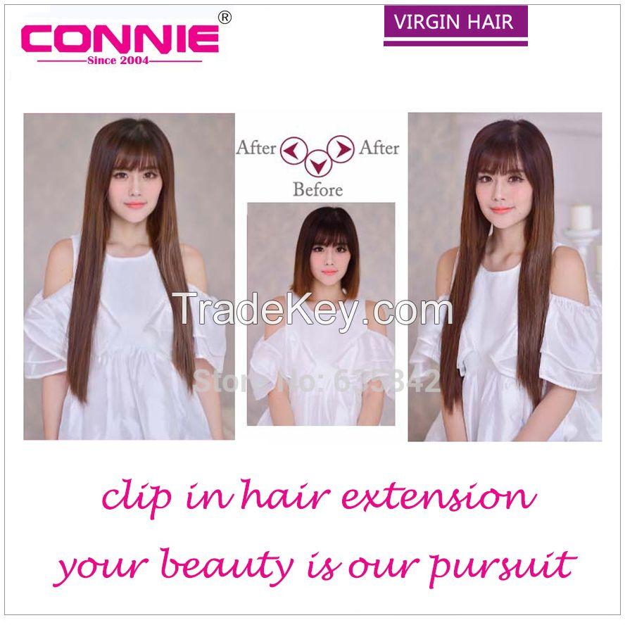 Clip Hair Human Hair Extension