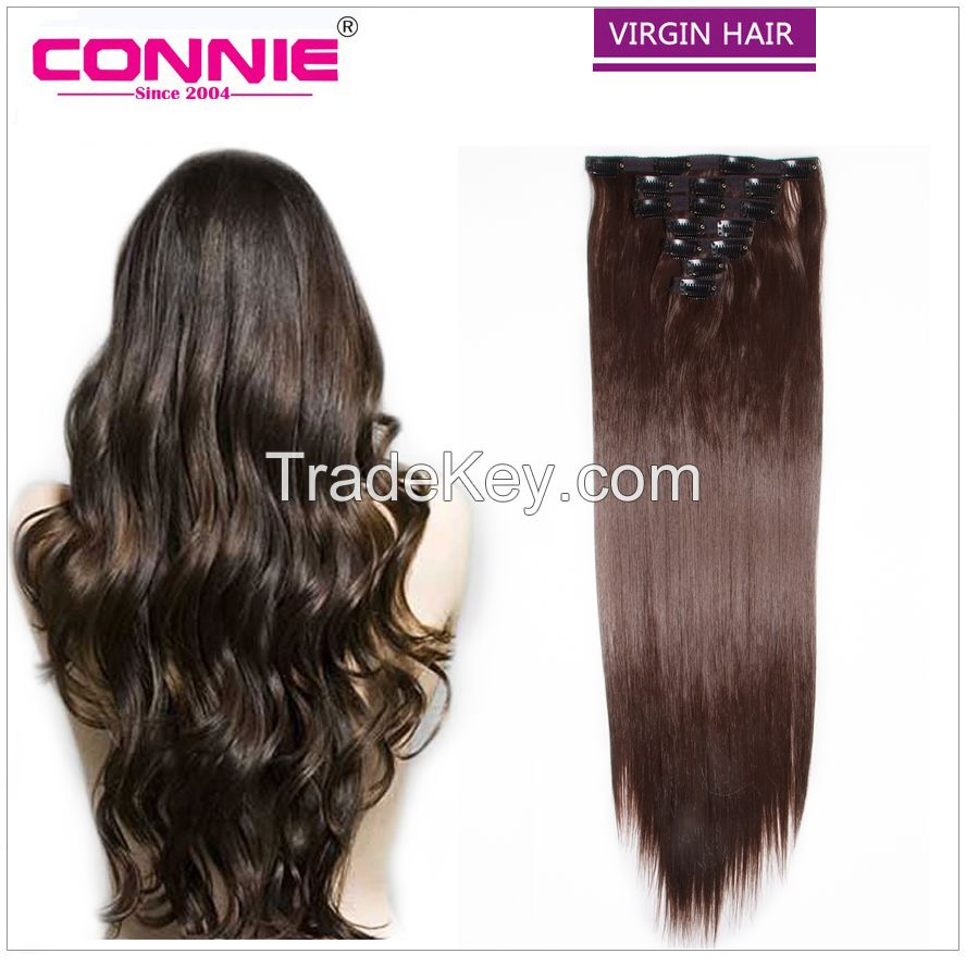 Clip Hair Human Hair Extension