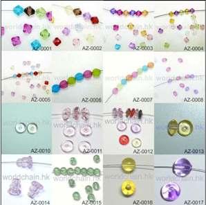Acrylic / plastic beads