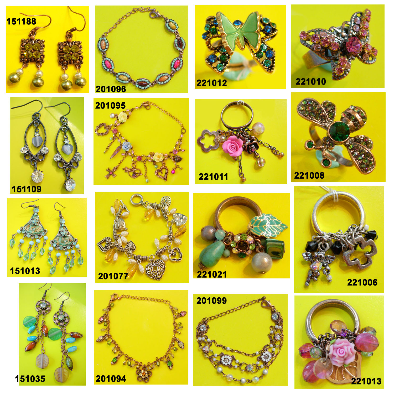 Costume Jewellery and Imitation Jewelry