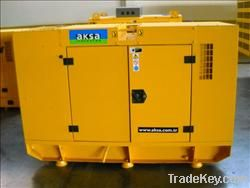 Aksa Lister Petter Engine ALP 30 kVA, Canopy Automatic, with ATS, 1999