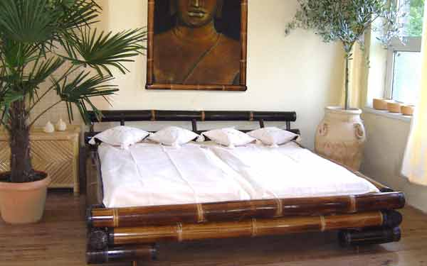 SAI GON DARK BROWN BED
