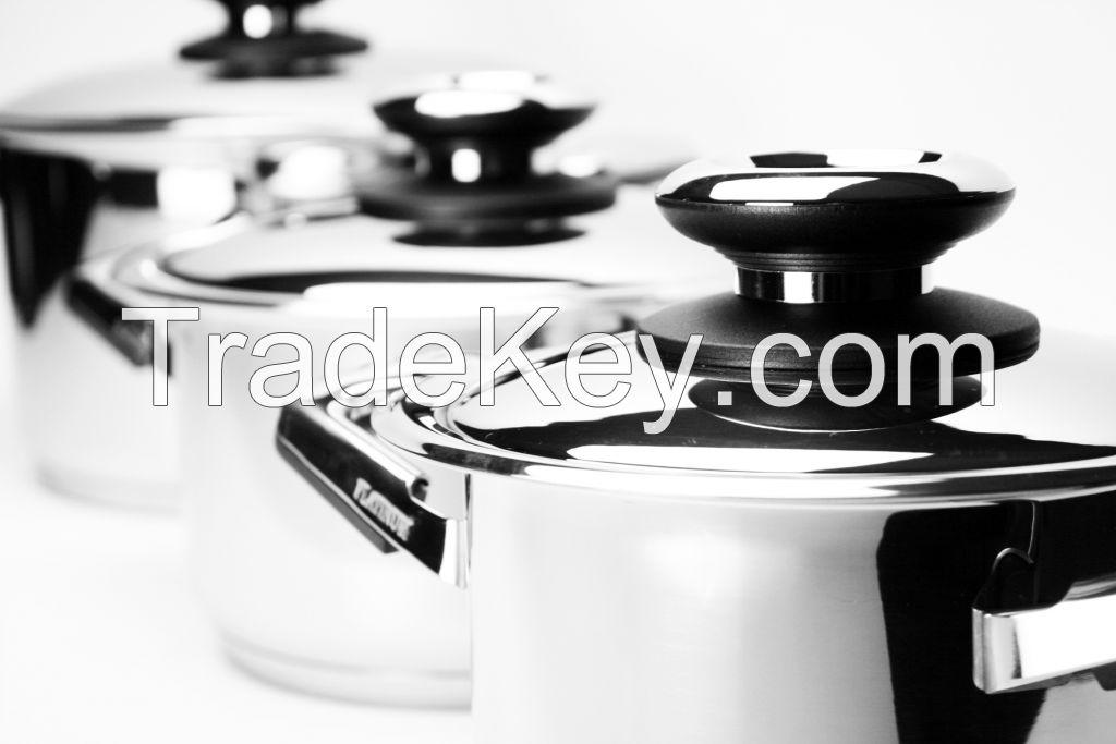 Waterless Stainless Steel Cookware Set