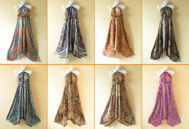 Sell Multiwear Silk Scarf Dress / Maxi Maternity Wear