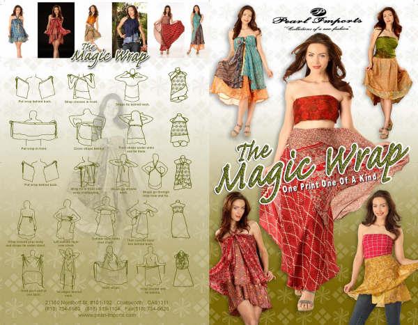 Silk Wrap Skirts / Magic Wraps / Magic Wrap Skirts