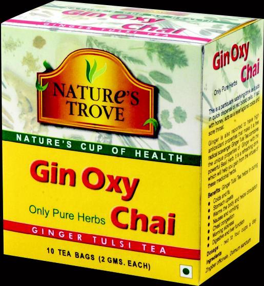 Ginger Tulsi Herbal Tea