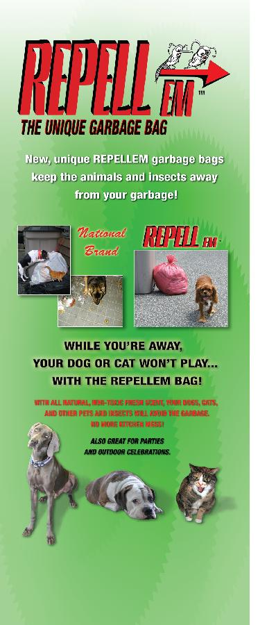 REPELLEM GARBAGE BAGS