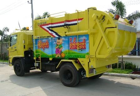 Packman Garbage Truck (Waste Compactor)