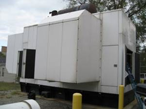 1999 Generac SD2000 2Meg Diesel Generator Set