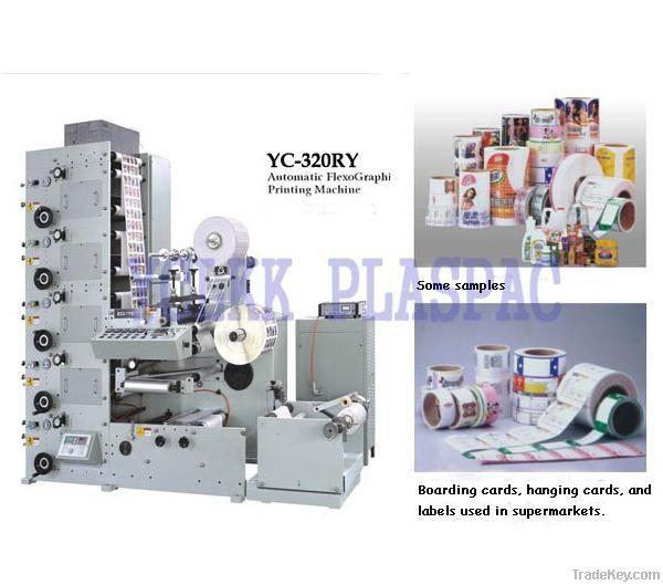 Lable Flexographic Printing Machine