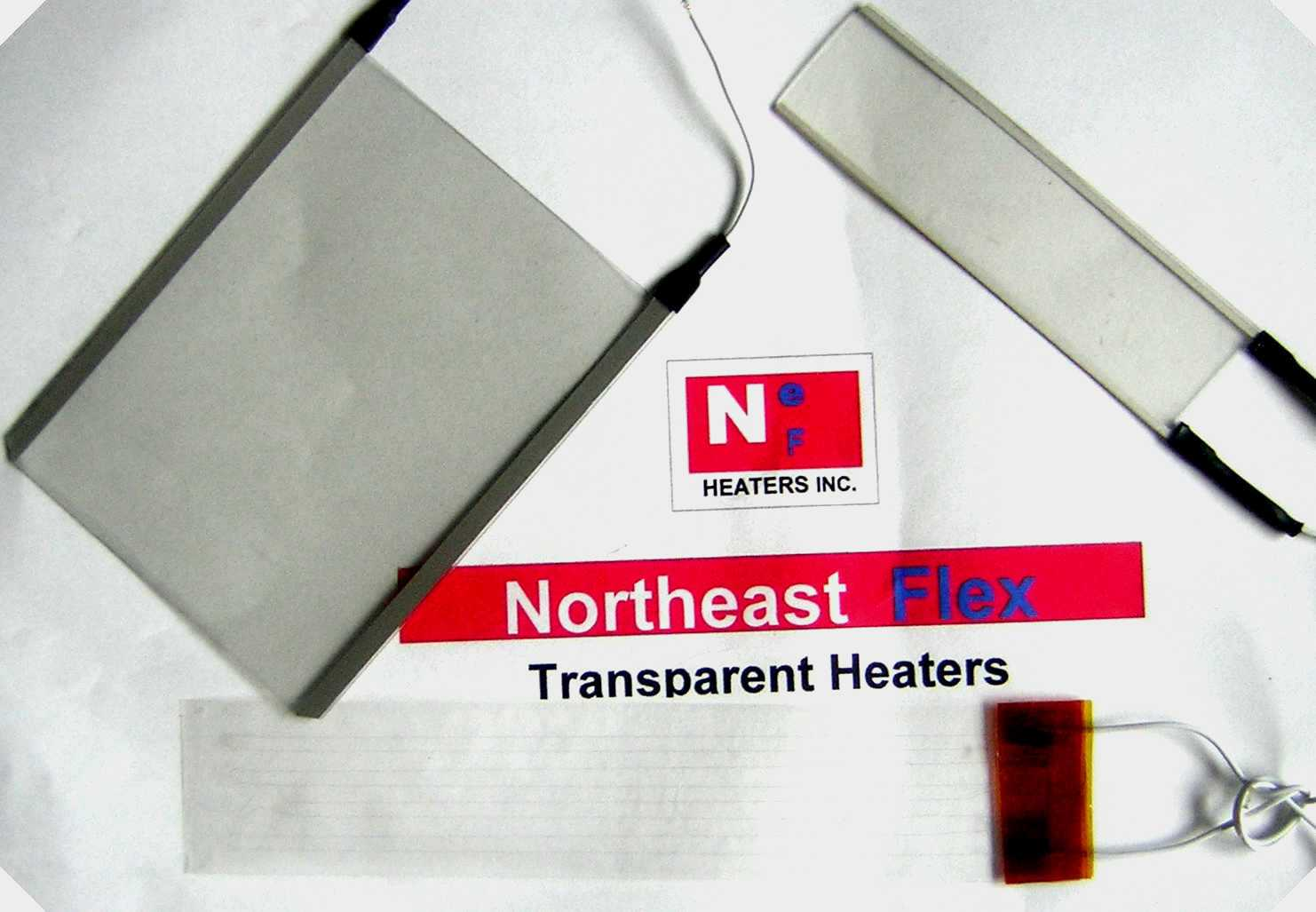 Flexible heaters, Transparent heaters, Customized molded to shape heat