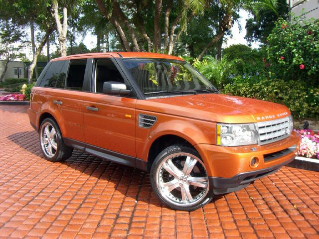 06 RANGE SPORT SUPERCHARGED ORANGE DVD 17K MILES NEW !