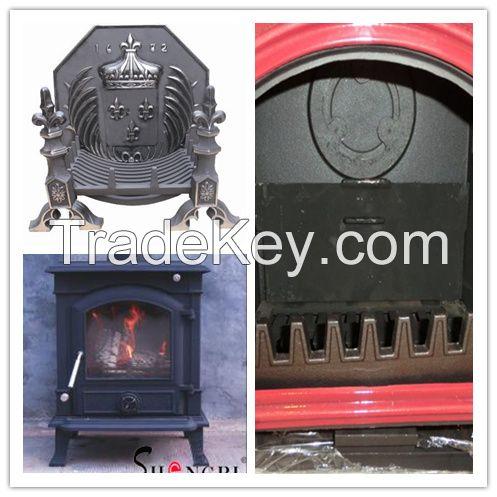 Cast iron fireboxes