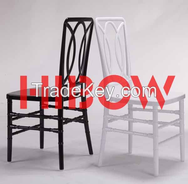 new design resin wedding chair