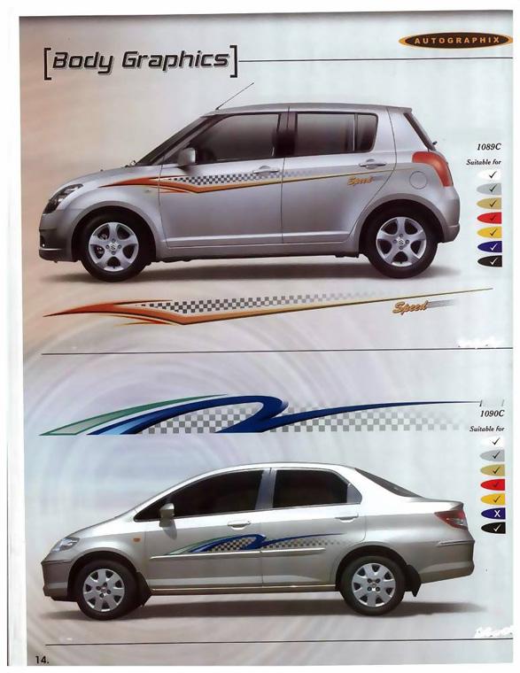 Auto Body Graphics