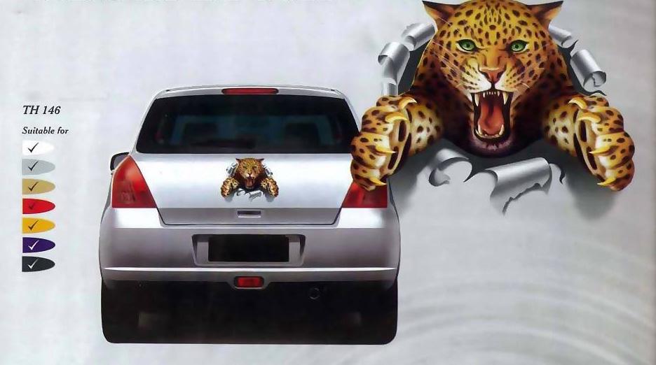Baby Leopard Sticker