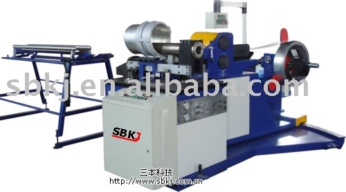 roll-and-shear metal tube former