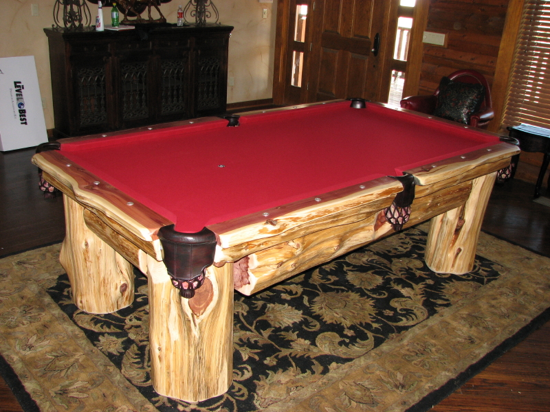 Cedar Classics Pool Table