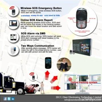 GPS car alarm, GPS/GSM cara alarm, CT04-R