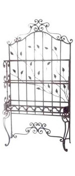 wrought iron futniture ( tables , consoles , gates, CHANDILIER, )