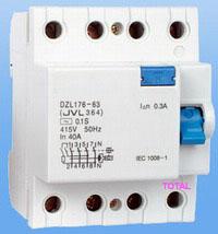 circuit breaker, MCB, RCCB, RCBO, MCCB, contactor, relay